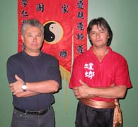 Si-fu Dennis Sue-Tin and Si-fu Guy Sue-Tin